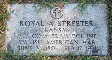 STREETER, ROYAL A. - Linn County, Iowa | ROYAL A. STREETER