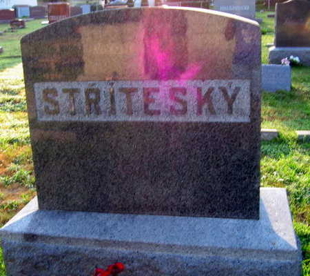 STRITESKY, FAMILY STONE - Linn County, Iowa | FAMILY STONE STRITESKY