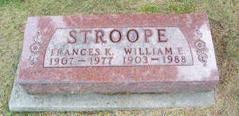 STROOPE, WILLIAM E. - Linn County, Iowa | WILLIAM E. STROOPE
