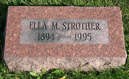 STROTHER, ELLA M. - Linn County, Iowa | ELLA M. STROTHER