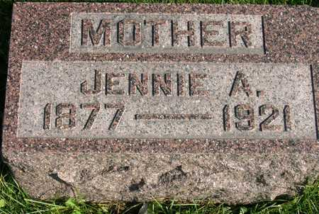 STROTHER, JENNIE A. - Linn County, Iowa | JENNIE A. STROTHER