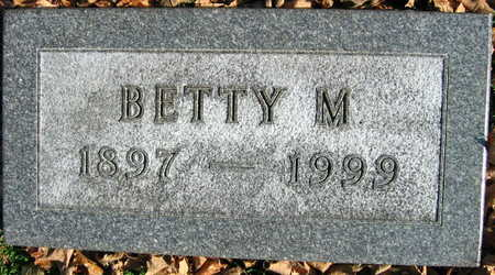 SUCHOMEL, BETTY M. - Linn County, Iowa | BETTY M. SUCHOMEL