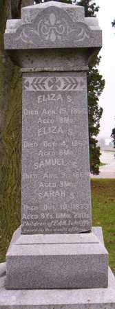 SUTCLIFFE, ELIZA S. - Linn County, Iowa | ELIZA S. SUTCLIFFE