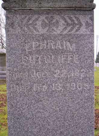 SUTCLIFFE, EPHRAIM - Linn County, Iowa | EPHRAIM SUTCLIFFE
