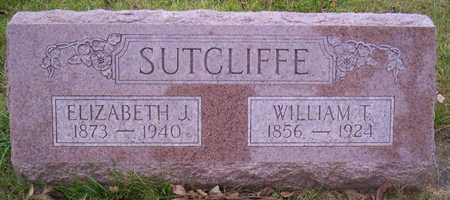 SUTCLIFFE, WILLIAM T. - Linn County, Iowa | WILLIAM T. SUTCLIFFE