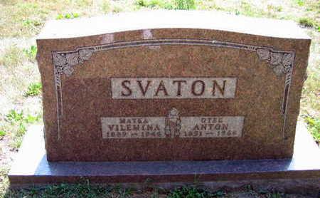 SVATON, VILEMINA - Linn County, Iowa | VILEMINA SVATON