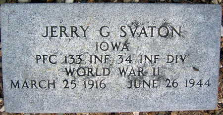 SVATON, JERRY G. - Linn County, Iowa | JERRY G. SVATON