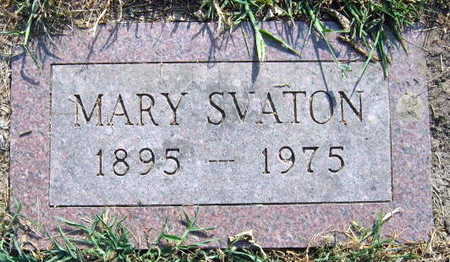 SVATON, MARY - Linn County, Iowa | MARY SVATON