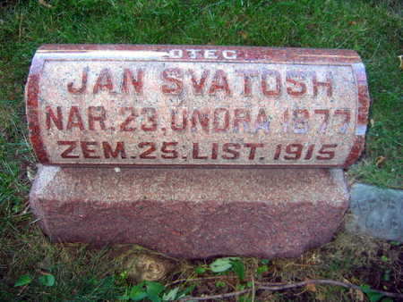 SVATOSH, JAN - Linn County, Iowa | JAN SVATOSH