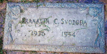 SVODODA, FRANKLIN C. - Linn County, Iowa | FRANKLIN C. SVODODA