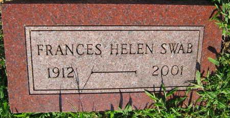 SWAB, FRANCES HELEN - Linn County, Iowa | FRANCES HELEN SWAB