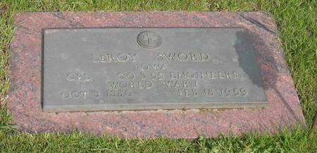 SWORD, LEROY - Linn County, Iowa | LEROY SWORD