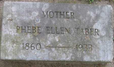 TABER, PHEBE ELLEN - Linn County, Iowa | PHEBE ELLEN TABER