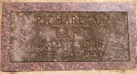 TAFT, RICHARD M. - Linn County, Iowa | RICHARD M. TAFT