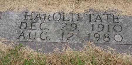 TATE, HAROLD - Linn County, Iowa | HAROLD TATE