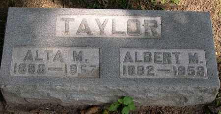 TAYLOR, ALBERT M. - Linn County, Iowa | ALBERT M. TAYLOR