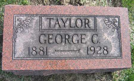 TAYLOR, GEORGE C. - Linn County, Iowa | GEORGE C. TAYLOR