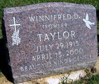 TAYLOR, WINNIFRED D. - Linn County, Iowa | WINNIFRED D. TAYLOR
