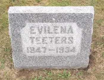 TEETERS, EVILENA - Linn County, Iowa | EVILENA TEETERS