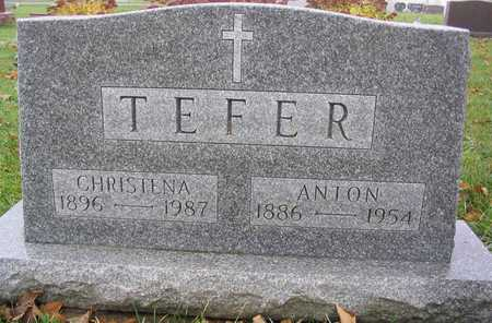 TEFER, CHRISTENA - Linn County, Iowa | CHRISTENA TEFER