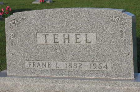 TEHEL, FRANK L. - Linn County, Iowa | FRANK L. TEHEL