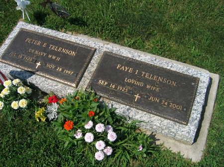 TELENSON, FAYE I. - Linn County, Iowa | FAYE I. TELENSON