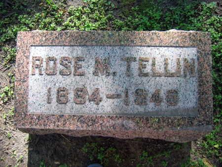 TELLIN, ROSE M. - Linn County, Iowa | ROSE M. TELLIN