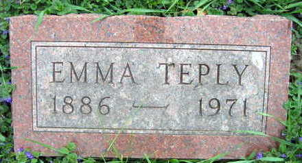 TEPLY, EMMA - Linn County, Iowa | EMMA TEPLY