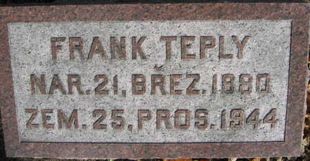 TEPLY, FRANK - Linn County, Iowa | FRANK TEPLY