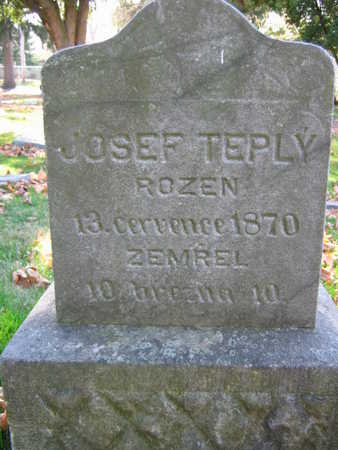 TEPLY, JOSEF - Linn County, Iowa | JOSEF TEPLY