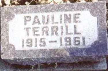 TERRILL, PAULINE - Linn County, Iowa | PAULINE TERRILL