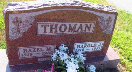 THOMAN, HAROLD J. - Linn County, Iowa | HAROLD J. THOMAN