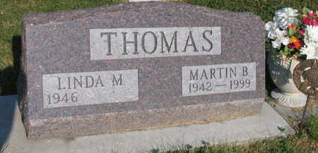 THOMAS, MARTIN B. - Linn County, Iowa | MARTIN B. THOMAS
