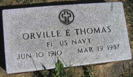 THOMAS, ORVILLE E. - Linn County, Iowa | ORVILLE E. THOMAS