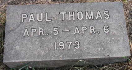 THOMAS, PAUL - Linn County, Iowa | PAUL THOMAS