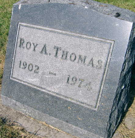 THOMAS, ROY A. - Linn County, Iowa | ROY A. THOMAS