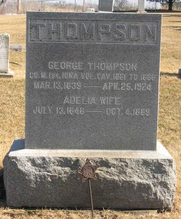 THOMPSON, GEORGE - Linn County, Iowa | GEORGE THOMPSON