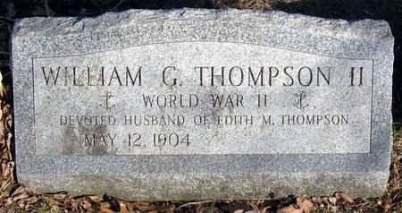 THOMPSON, WILLIAM G., II - Linn County, Iowa | WILLIAM G., II THOMPSON