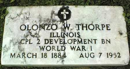 THORPE, OLONZO W. - Linn County, Iowa | OLONZO W. THORPE