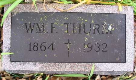 THURM, WM. F. - Linn County, Iowa | WM. F. THURM