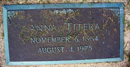 TITERA, ANNA - Linn County, Iowa | ANNA TITERA