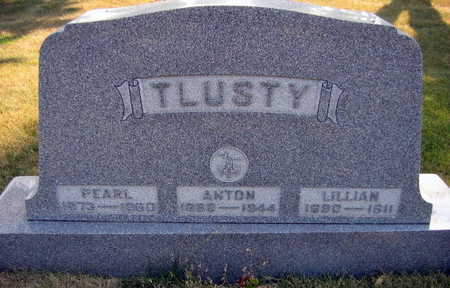 TLUSTY, LILLIAN - Linn County, Iowa | LILLIAN TLUSTY