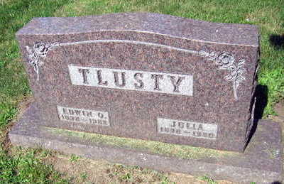 TLUSTY, JULIA - Linn County, Iowa | JULIA TLUSTY