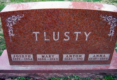 TLUSTY, MARY - Linn County, Iowa | MARY TLUSTY