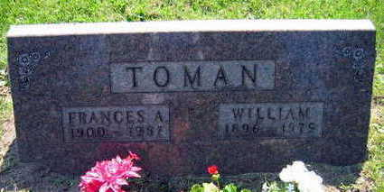 TOMAN, FRANCES A. - Linn County, Iowa | FRANCES A. TOMAN