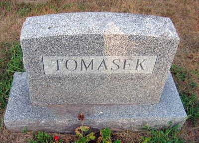 TOMASEK, FAMILY STONE - Linn County, Iowa | FAMILY STONE TOMASEK