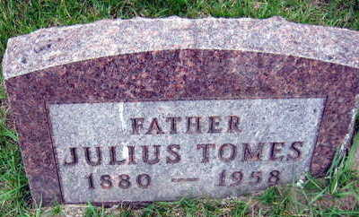 TOMES, JULIUS - Linn County, Iowa | JULIUS TOMES