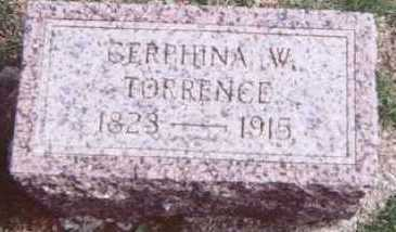 TORRENCE, CERPHINA W. - Linn County, Iowa | CERPHINA W. TORRENCE