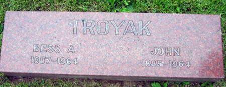 TROYAK, BESS A. - Linn County, Iowa | BESS A. TROYAK