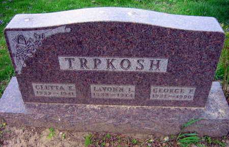 TRPKOSH, LAVONN L. - Linn County, Iowa | LAVONN L. TRPKOSH